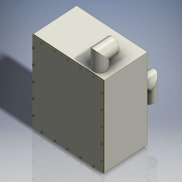 Hepa Filter Assy For TI80DLCFA/TI80LCFA ATEX